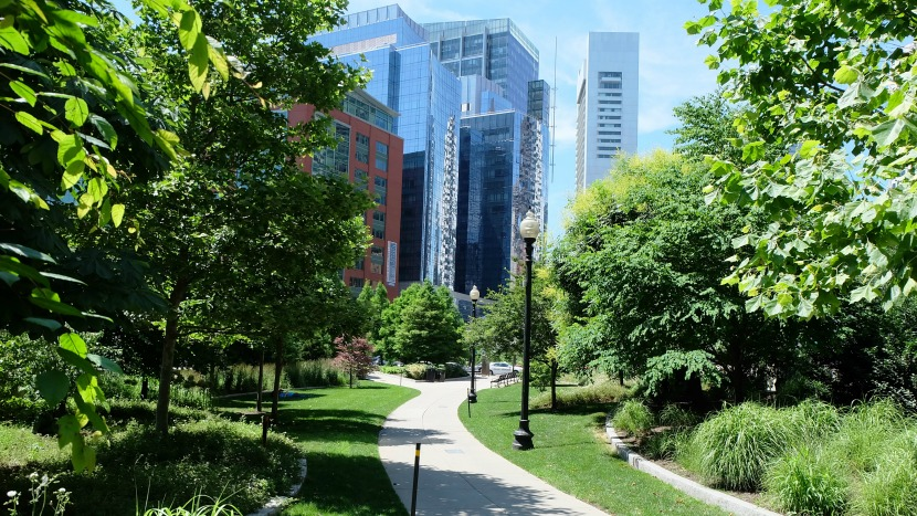 Rose Kennedy Greenway is installed by BrightView