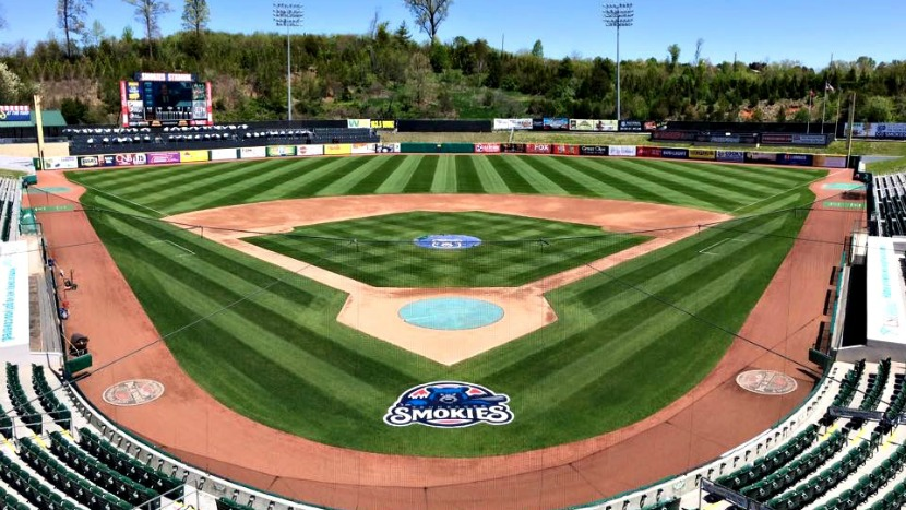 Smokies Stadium Wins Field Of The Year Honors After