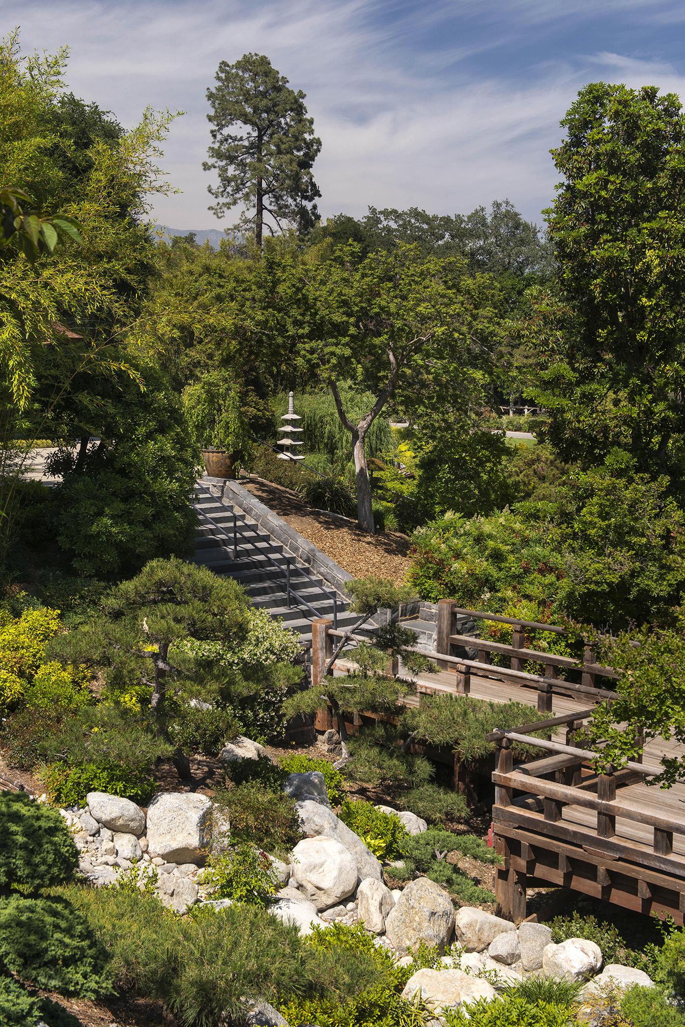 Japanese Gardens At The Huntington Library