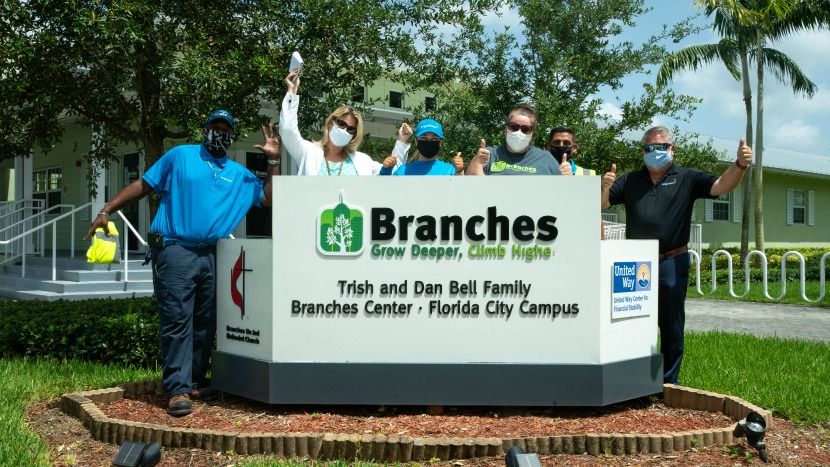 Branches Receives Grant from the BrightView Fund for Social Justice