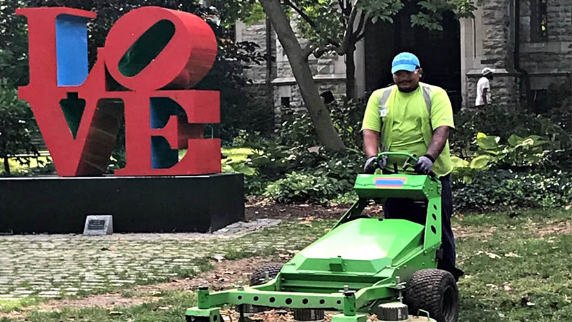 BrightVIew Green Mover at University of Pennsylvania