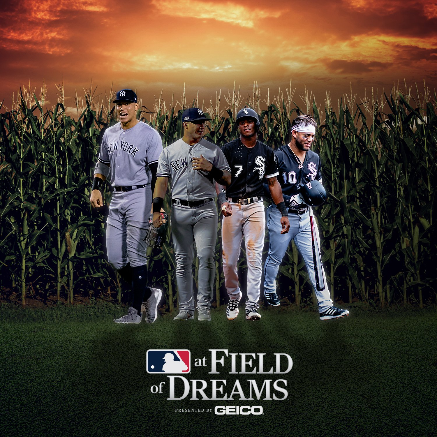 Field of Dreams MLB Chicago White Sox New York Yankees