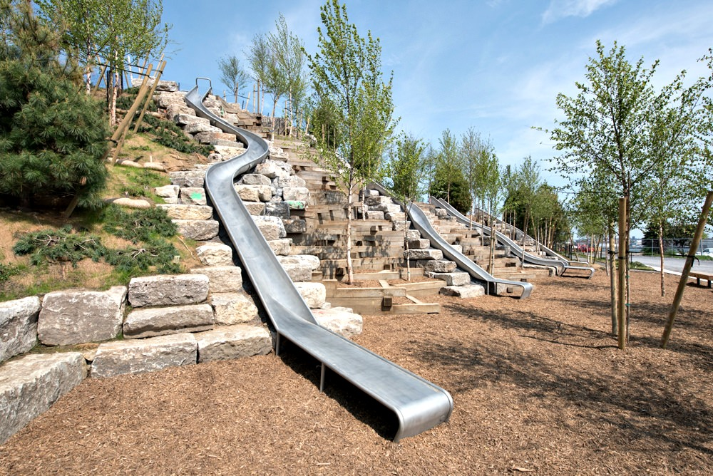 Governors Island Slide Hill New York
