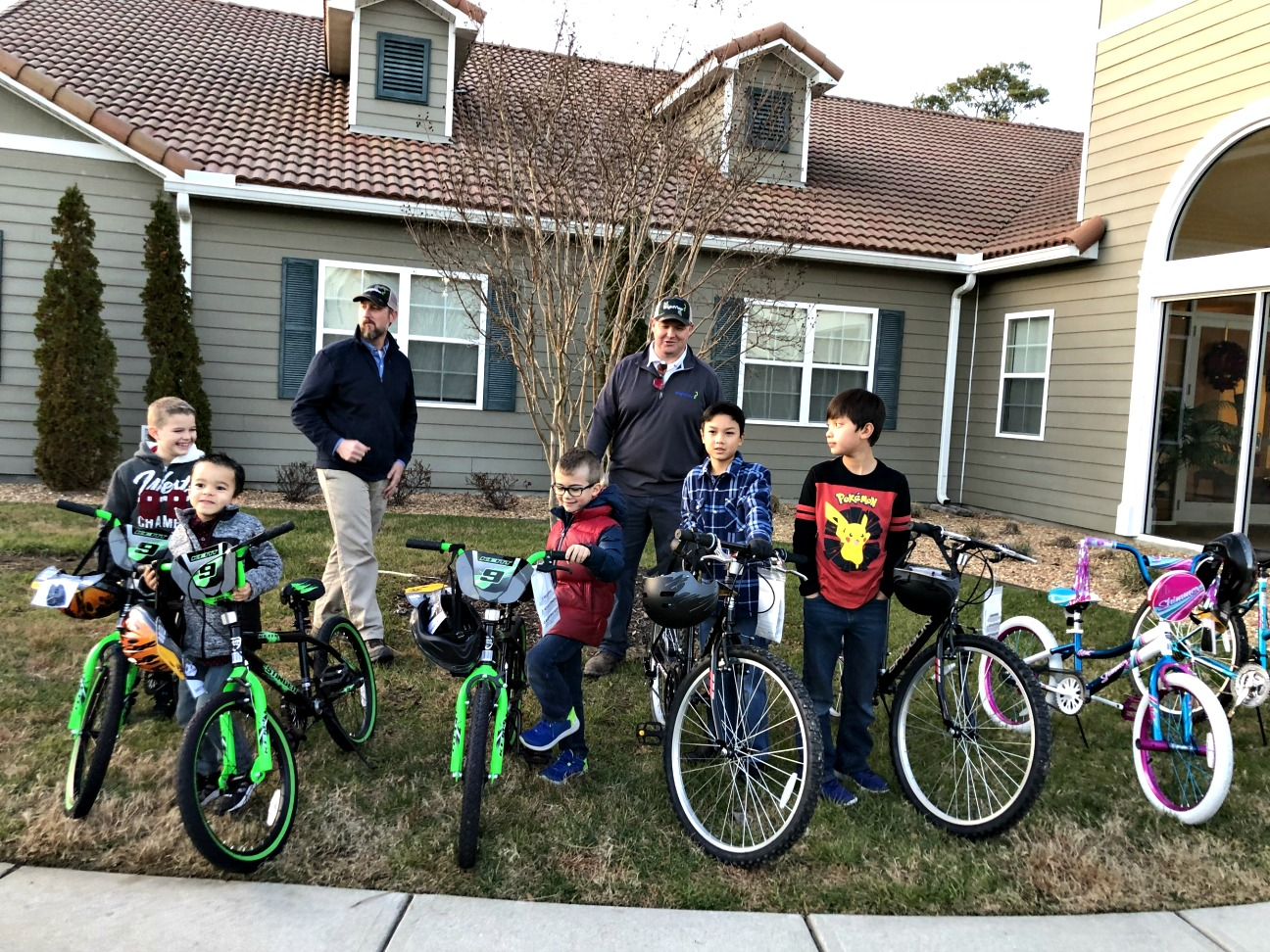 BrightView & HHF Donate Bicycles to Military Families