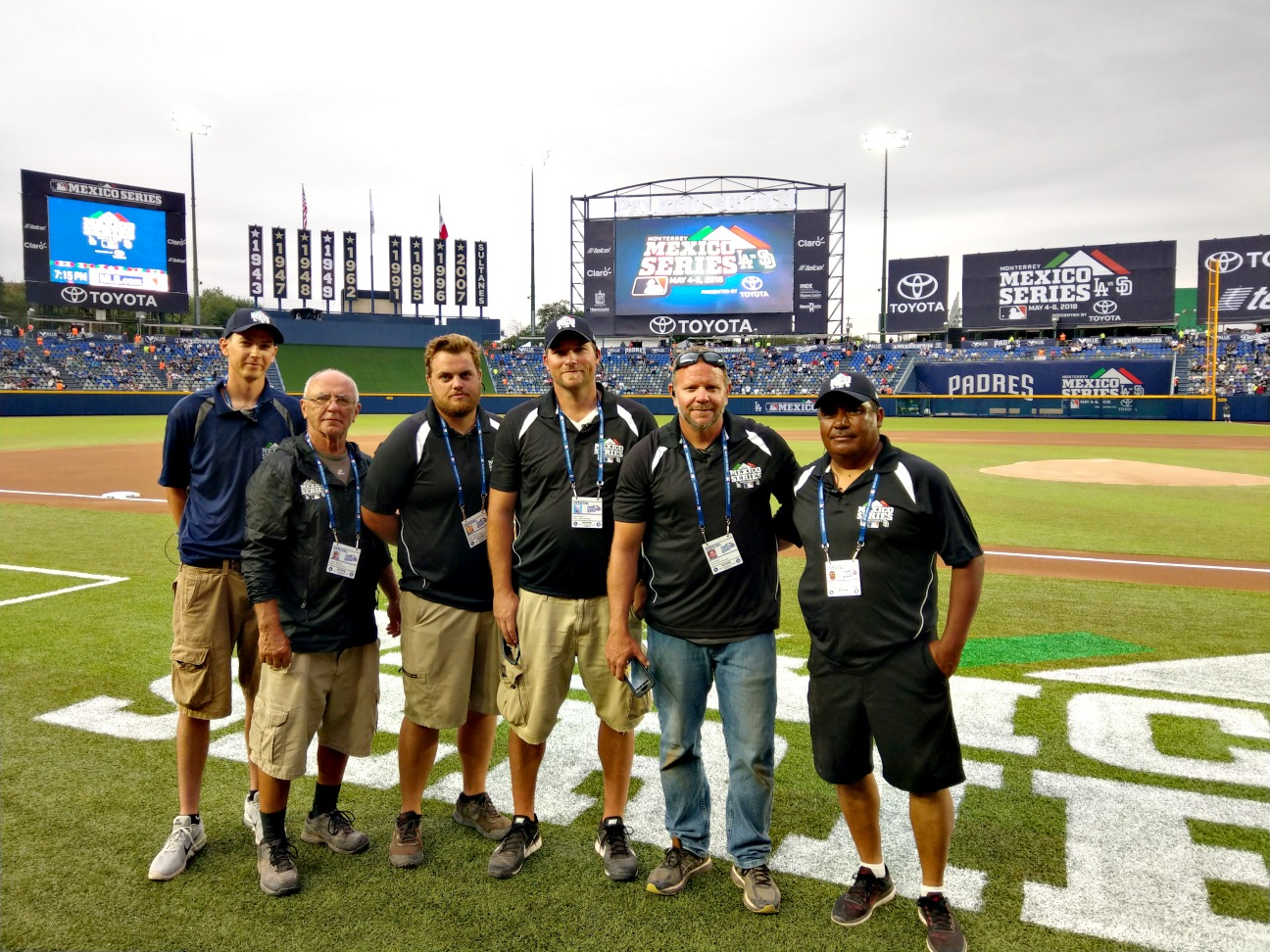 BrightView Sports Turf Works Estadio Monterrey in Mexico for MLB