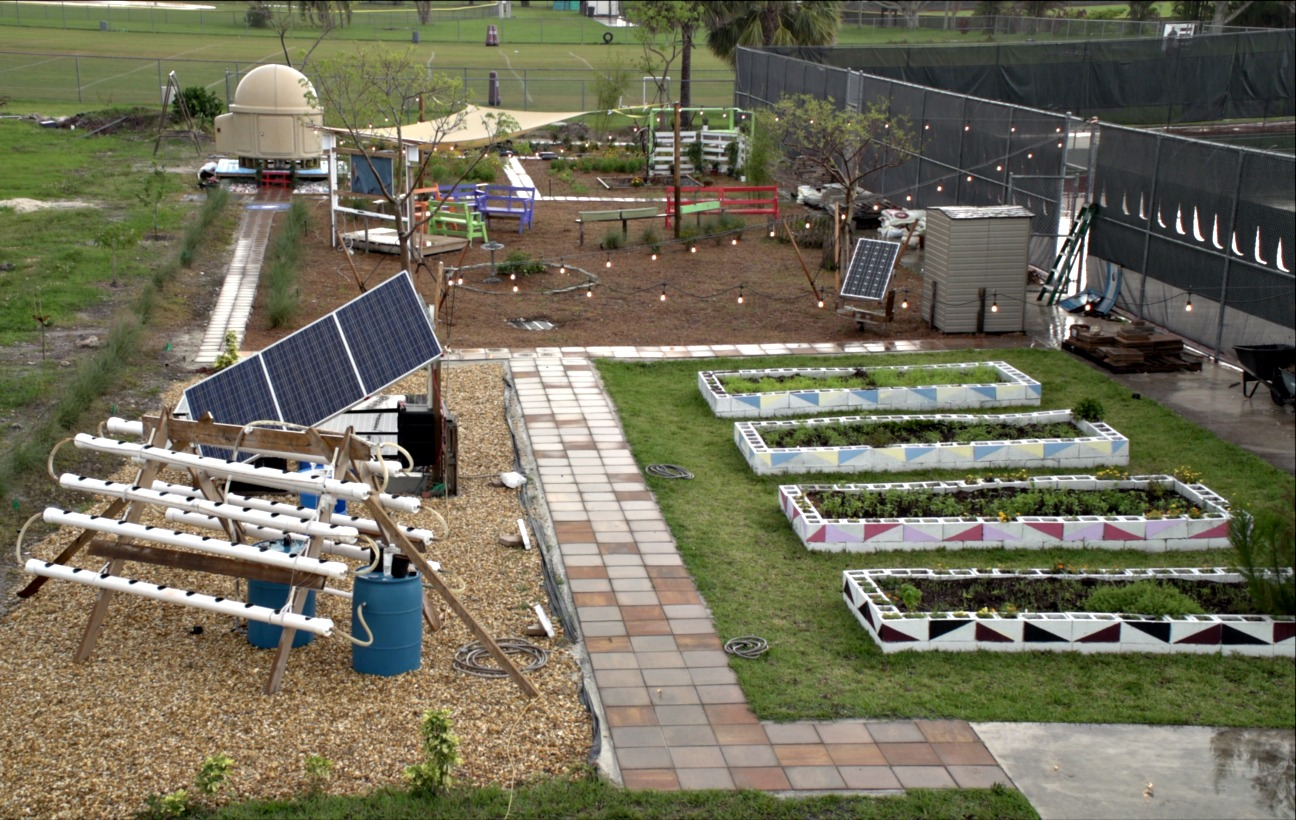 BrightView re-grades reflective tranquility garden for Marjory Stoneman Douglas High School