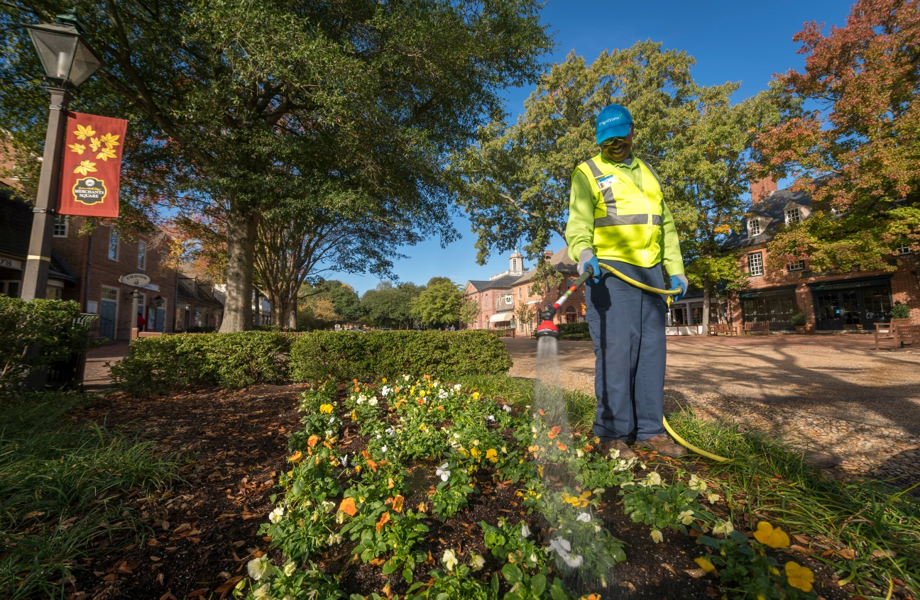 Colonial Williamsburg Landscaping Outsourced to BrightView