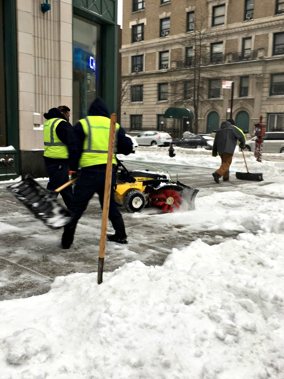 Winter Storm Stella snow northeast cleanup