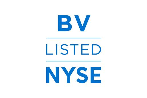 BrightView Listed on NYSE Logo