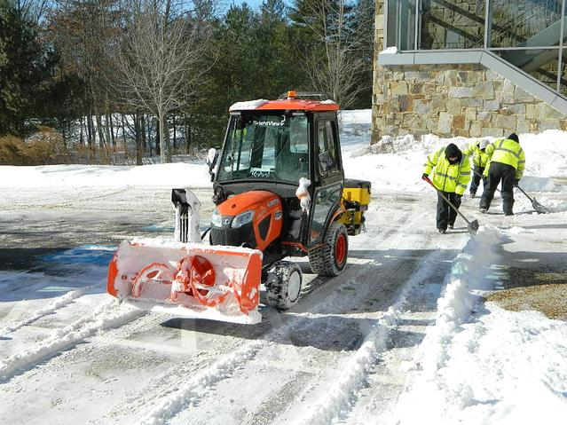 Snow and Ice Removal Services in Boston, MA