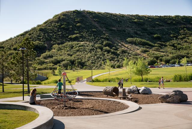 Landscape Construction at Philip S Miller Park