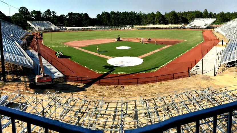 BrightView installs MLB field for military game.