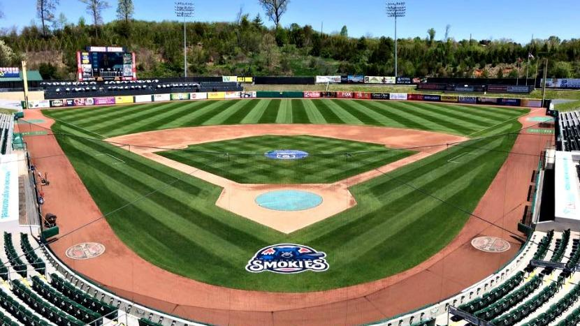Smokies stadium wins field of the year after BrightView Renovations