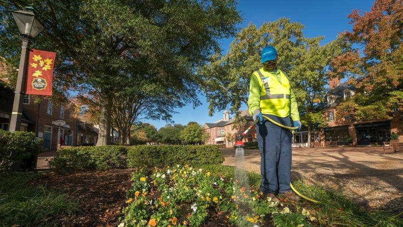 Colonial Williamsburg Outsources Landscaping to BrightView