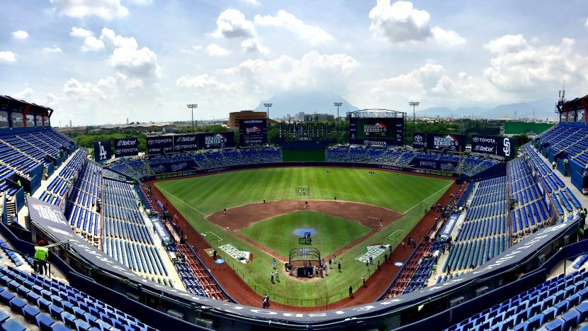 Monterrey in Mexico hosts MLB weekend