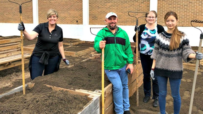 BrightView Renovates Texas YMCA Garden