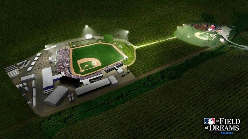 Field of Dreams MLB baseball field Iowa