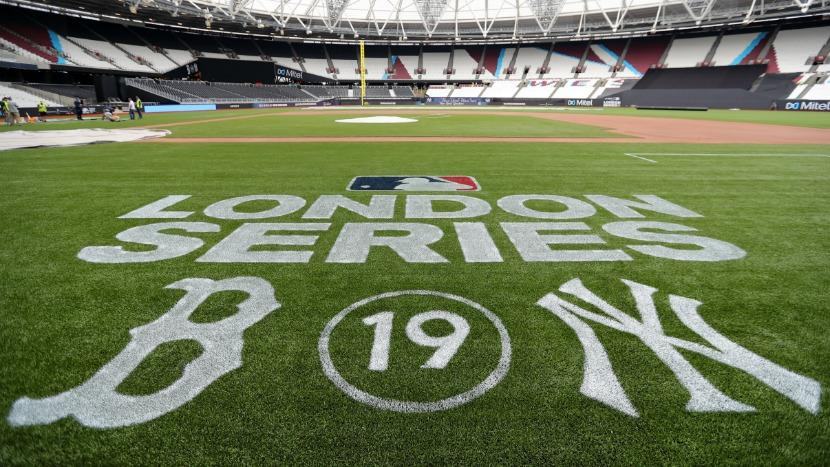 MLB London Boston Red Sox New York Yankees
