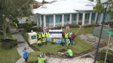 BrightView Provides Landscaping for Double Amputee Afghanistan War Veteran