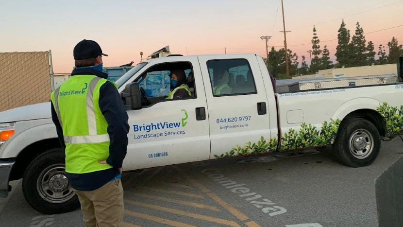 BrightView Practicing Landscape Safety